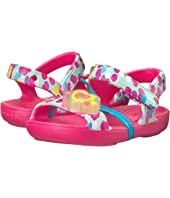 Crocs Kids Lina Lights Sandal (Toddler/Little Kid)