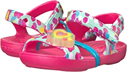 Crocs Kids - Lina Lights Sandal (Toddler/Little Kid)