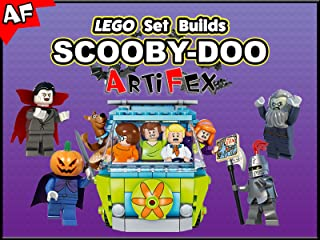 Clip: Lego Set Builds Scooby-Doo - Artifex