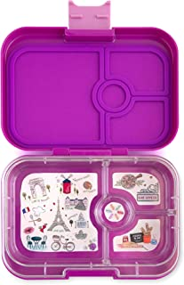 Yumbox Leakproof Bento Lunch Box Container (Bijoux Purple) for Kids and Adults