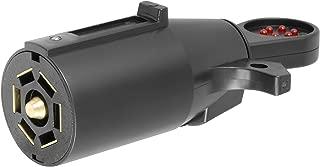 CURT 58271 Vehicle Socket RV Blade 7-Way Towing Tester 7-Pin Trailer Wiring