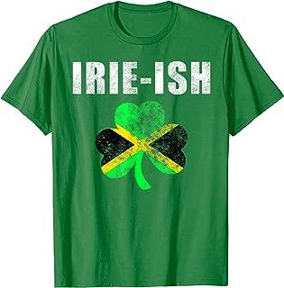 Jamaican St. Patrick's Day Funny Tee Irie-Ish