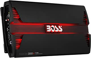 BOSS Audio Systems PT3000 2 Channel Car Amplifier – Phantom Series, 3000 Watts, Full Range, Class A/B, 2-4 Ohm Stable, MOS... photo