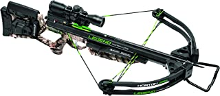 TenPoint Legend Ultra Lite Package with ACU draw 50/3X Pro-View 2 Scope/3 Carbon Arrows & Quiver, Large