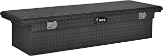 UWS EC10473 69-Inch Matte Black Heavy-Wall Aluminum Truck Tool Box with Low Profile, RigidCore Lid