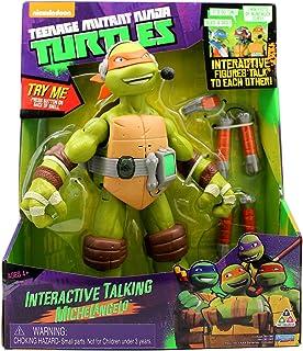 Teenage Mutant Ninja Turtles Talking Michealangelo Action Figure - 3 Years & Above