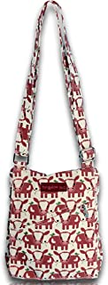 Bungalow 360 Small Messenger Crossbody Bag (Cow)