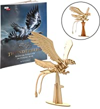Fantastic Beasts and Where to Find Them Thunderbird Book and Figure Kit - Build, Paint and Collect Your Own 3D Wooden Movie Toy Model - Kids and Adults, 8+ - 7