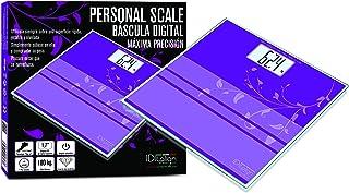 Báscula de Baño Italian Design, violeta