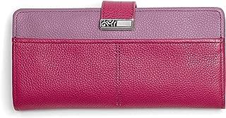 Barbados Large Pocket Wallet - PUNCH-WISTERIA [7 1/2