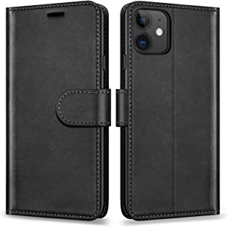 ykooe Case Designed for iPhone 12 mini, PU Wallet Flip Case for Apple iPhone 12 mini (2020 Release)