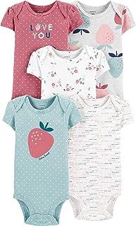 Baby Girls' 5-Pack Bodysuits 126g330