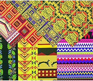 Roylco Textile Craft Papers Native American