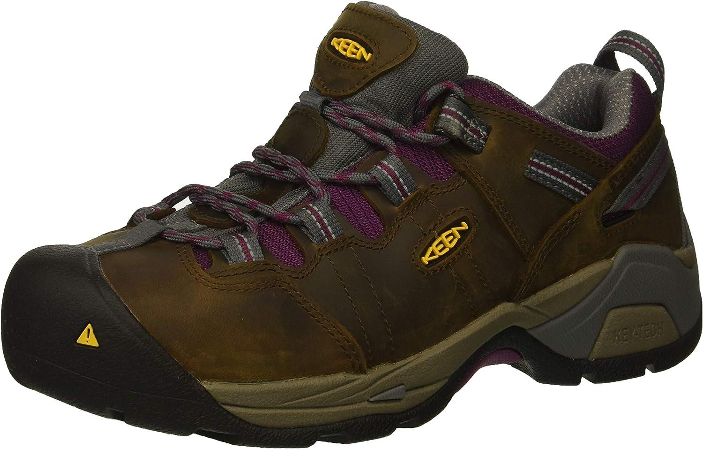 KEEN Utility Women's Detroit XT Low Steel Toe Waterproof Work Shoe
