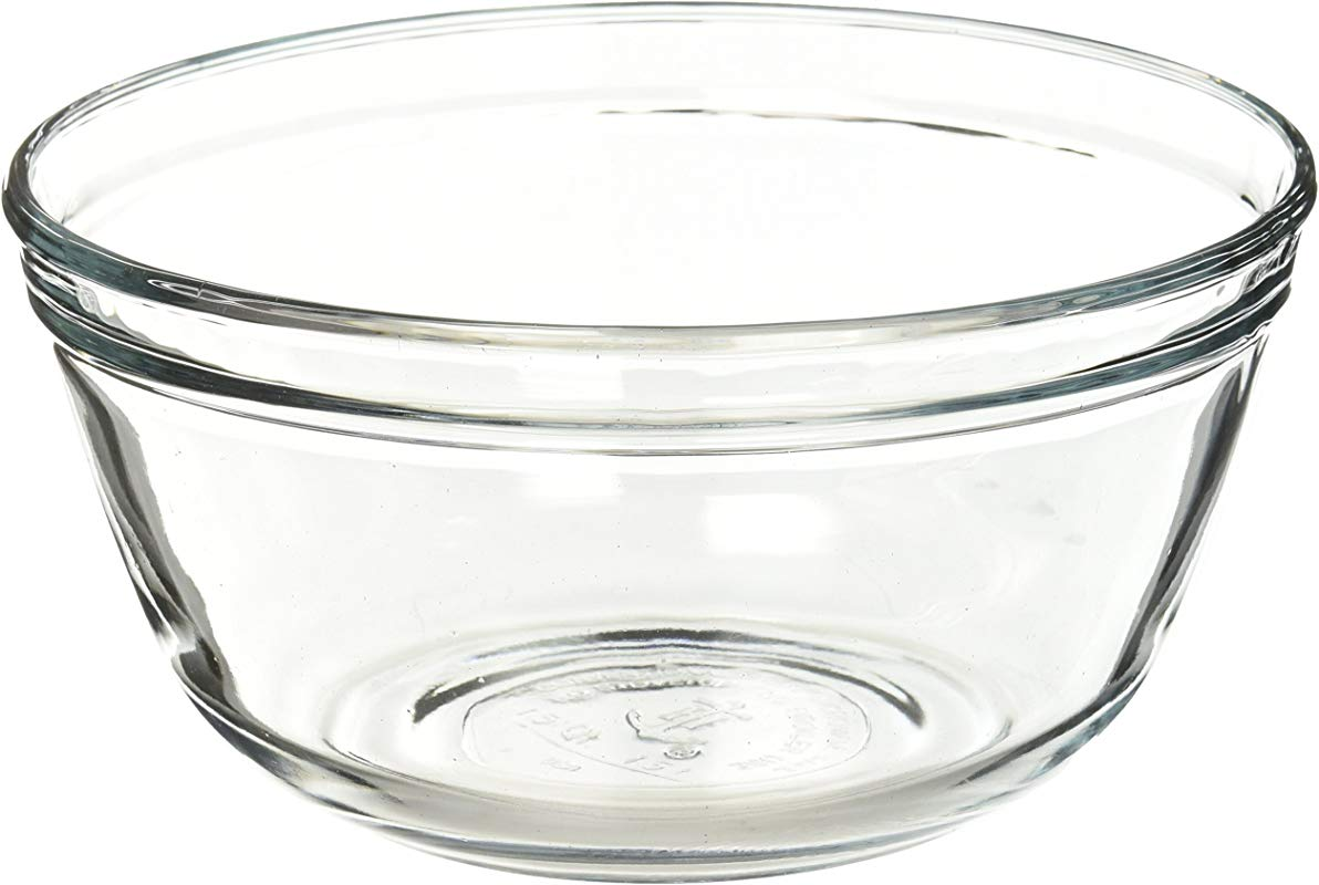 Anchor Hocking Glass Mixing Bowl 1 5 Quart