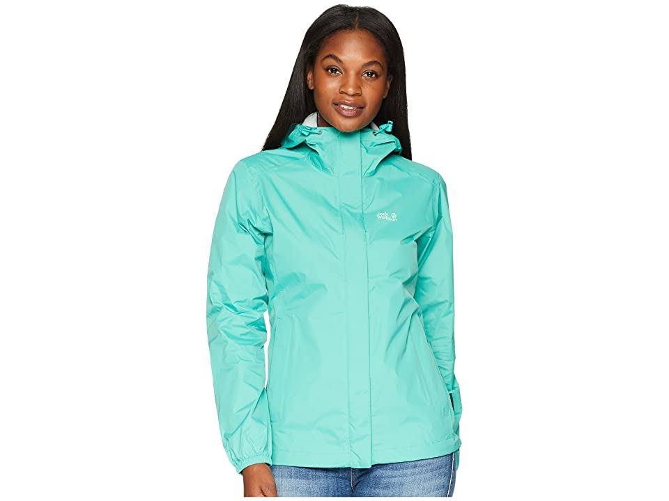 Jack Wolfskin Cloudburst Jacket (Deep Mint) Women