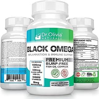 Amazon com: fish oil - Black Seed Oil / Essential Fatty