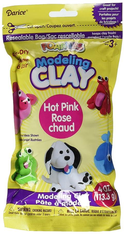 Darice Foam Foamies Hot Pink Modeling Clay