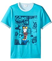 Little Marc Jacobs - Reversible Jersey Tee Shirt Fancy Illustration (Big Kids)