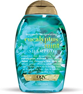 OGX Intensely Invigorating Eucalyptus Mint Shampoo, 13 Ounce