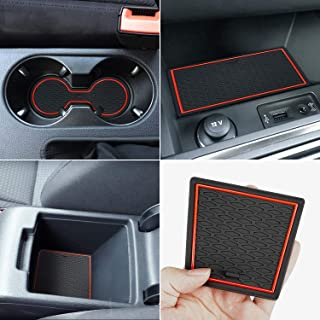 Auovo Protector Mats for Volkswagen Jetta Accessories 2013-2018 Custom Fit Door Compartment Liners Cup Holder Console Line...