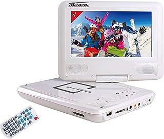 Takara VR132W Lecteur DVD Portable 7'' Blanc