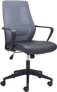 Zuo Modern Office Chair Gray & Black Skyrise
