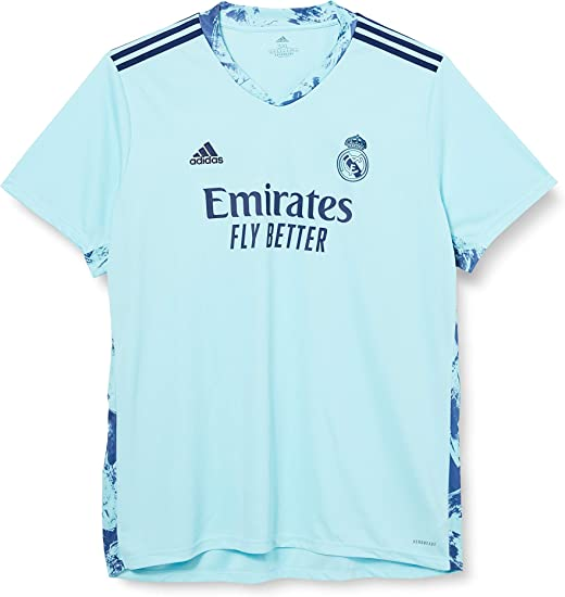 adidas 2020-2021 Real Madrid Home Goalkeeper ... - Amazon.com