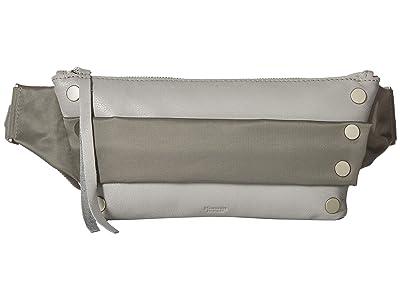 Hammitt Charles (Mist/Pewter Nylon/Grey cotton/Brushed Silver) Handbags