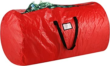 Elf Stor 1012 Elf Stor Deluxe Red Holiday Christmas Tree Storage Bag Large for 9 Foot Tree, 1012 Xmas Bag Deluxe, Plastic,...