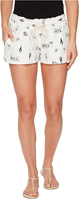 Roxy - Oceanside Printed Non-Denim Shorts