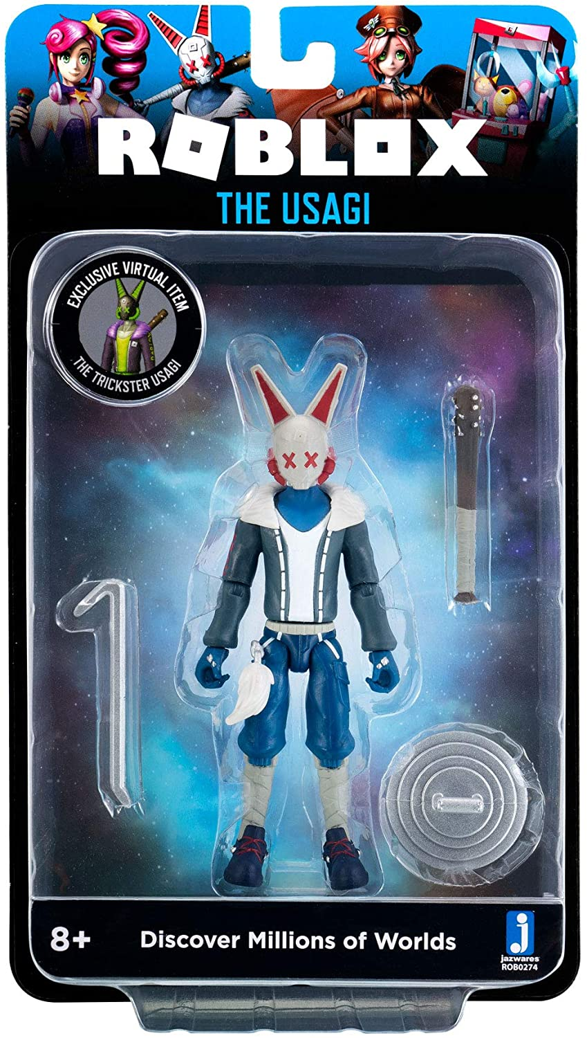 Roblox Imagination Collection - The Usagi Figure Pack [Includes Exclusive...