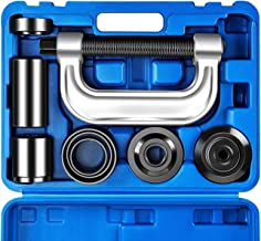 Orion Motor Tech Heavy Duty Ball Joint Press & U Joint Removal Tool Kit with 4x4 Adapters, for Most 2WD and 4WD Cars and Light Trucks (BL)