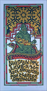 Widespread Panic Poster Original Hand-Signed and Numbered Silkscreen by Gary Houston 2011