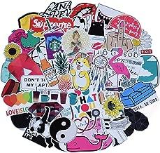 Cute Laptop Stickers for Teen Girl, 45 Pcs/Pack Cartoon Waterproof Vinyl Water Bottle Computer Notebook Car Skateboard Motorcycle Bicycle Luggage Guitar Bike Decal (Style - E)