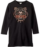 Kenzo Kids - Copper Tiger Dress (Big Kids)