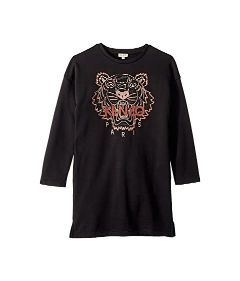 Kenzo Kids Copper Tiger Dress (Big Kids)