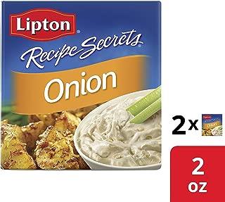 Lipton Recipe Secrets Soup and Dip Mix Onion Flavor 2 oz 2 Count