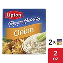 Lipton Recipe Secrets Soup and Dip Mix Onion Flavor 2 oz 2 Count