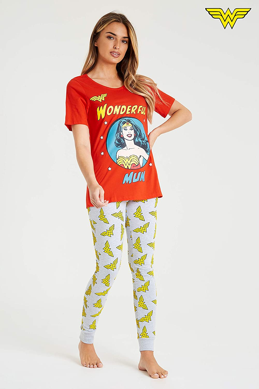 DC Comics Pijama Wonder Woman Mujer Diseño Superhéroe Wonder ...