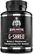 Goliath by Dr. Emil - Muscle-Preserving Thermogenic Fat Burner for Men and Women - Max Strength Weight Loss Pills, Appetite Suppressant and Metabolism Booster (60 Vegan Diet Pills)