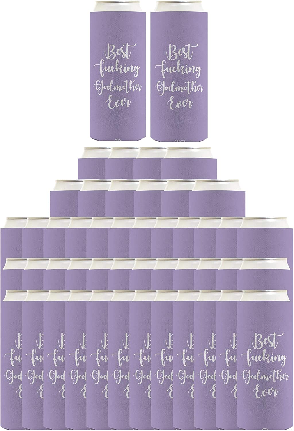 Best Godmother Ever Quantity limited Gifts F-cking 48-Pac Max 69% OFF The