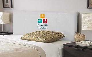 H-Cube meble jednolita gruba wyściełana podstawa łóżka Divan zagłówek sztuczna skóra grubość pomiędzy 5-7 cm (w przybliżen...