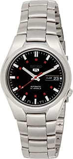 Seiko Mens Automatic Watch, Analog Display and Stainless Steel Strap SNK617K1