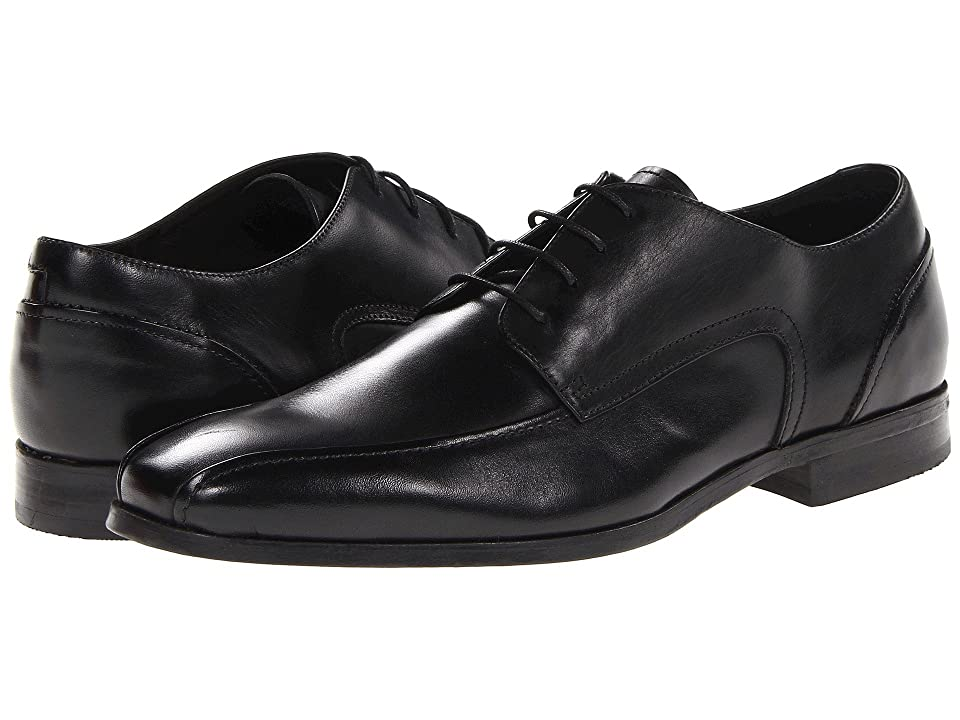 Mens Vintage Style Shoes| Retro Classic Shoes Florsheim Jet Bike Toe Oxford Black Mens Lace-up Bicycle Toe Shoes $124.95 AT vintagedancer.com