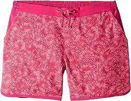 Wild Geranium Sun Burst Print/Haute Pink