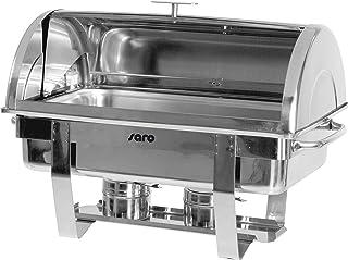 Saro 213–4070 Chauffe-plat avec couvercle roll, 1/1 GN, DENNIS