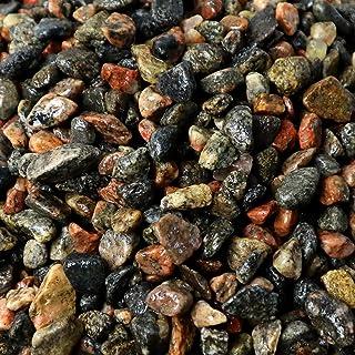 "3/8"" Granite Pea Gravel, 5lb Bag - Decorative Natural granitic Gneiss Gravel for Aquariums, Landscaping, Vase Fillers, Plants, Fairy Gardens, Bonsai."