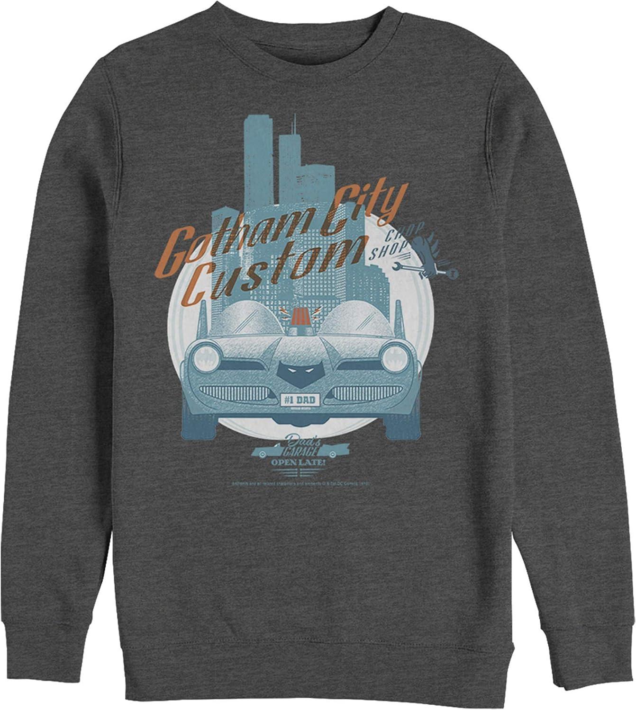 Men's Batman Custom New item Batmobile Sweatshirt Attention brand