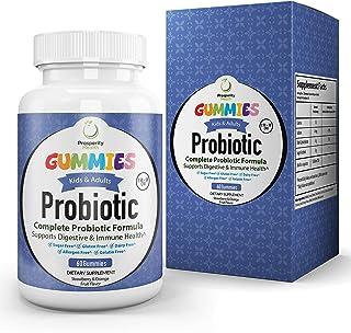 Probiotic Gummies by Prosperity Health®  Strawberry & Orange Flavor Adults & Kids Probiotics   Gluten Free, Allergen Free,...